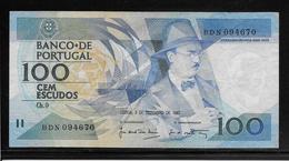 Portugal - 100 Escudos - Pick N°179d - TTB - Portugal