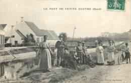 59 - LE PONT DE PETITE SYNTHE - Très Belle Animation En 1908 - Autres Communes