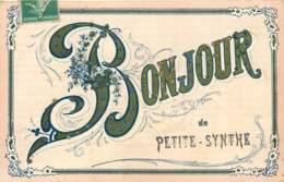 59 - PETITE SYNTHE - Carte Souvenir Avec Paillettes - Autres Communes