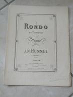 Rondo En Ut Majeur - Musique Classique Piano (J.N. Hummel) - Instruments à Clavier
