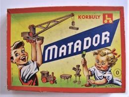 JEU DE CONSTRUCTION MATADOR - Boîte N° 0  Avec Plan - 27 X 19 X 3 Cm. - C7 - Other