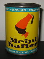 Boîte Ancienne En Métal - MEINL KAFFEE - CAFE - COFFEE / 3 Scans - Boîtes
