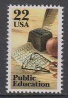 USA 1985 Public Education 1v ** Mnh (43118H) - Verenigde Staten