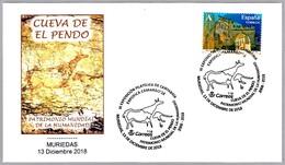CUEVA DE EL PENDO - Pintura Rupestre - Rock Painting. Muriedas, Cantabria, 2018 - Prehistoria