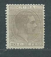 Cuba Sueltos 1883 Edifil 105 * Mh - Cuba (1874-1898)