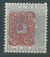 Cuba Sueltos 1883 Edifil 74 * Mh - Cuba (1874-1898)