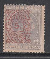 Cuba Sueltos 1883 Edifil 80 * Mh - Cuba (1874-1898)