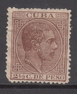 Cuba Sueltos 1883 Edifil 99 (*) Mng - Cuba (1874-1898)