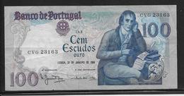 Portugal - 100 Escudos - Pick N°178c - TTB - Portogallo