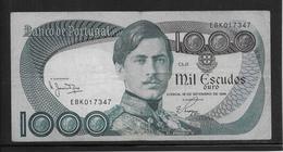 Portugal - 1000 Escudos - Pick N°175b - TTB - Portogallo