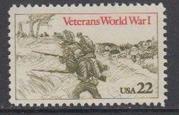 USA 1985 Veterans World War I 1v ** Mnh (43119) - Nuovi