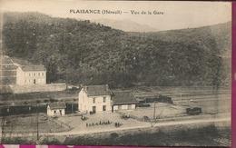 D34 -  PLAISANCE -  Vue De La Gare - Francia