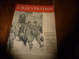 1940 L'ILLUSTRATION :Sauvetage Naufragés Allemands Par Des Anglais; Bergen Bombardé Par R.A.F.; Armée Yougoslave;etc - Journaux - Quotidiens