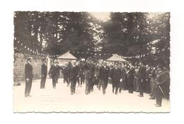 PHOTO Format CARTE POSTALE  COMMEMORATION GUERRE 40 - Général  De GAULLE - (photo Poulain Flers) - - Flers