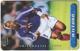 FRANCE C-555 Prepaid - Sport, Soccer - Used - Frankreich