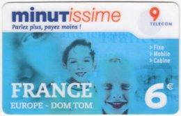 FRANCE C-558 Prepaid Minutissime - Used - Frankreich