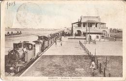 26/FP/19 - COLONIALI - BENGASI (LIBIA) - Stazione Ferroviaria - Militari
