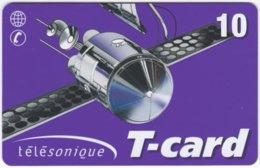 FRANCE C-590 Prepaid - Communication, Satellite - Used - Francia