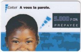 FRANCE C-599 Prepaid Celtel - People, Child - Used - Frankreich