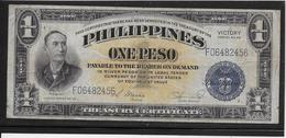 Philippines - 1 Peso - Pick N°94 - TB - Filippine