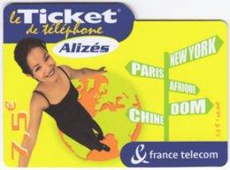 FRANCE C-608 Prepaid Telecom - People, Woman - Used - Frankreich