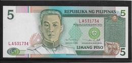 Philippines - 5 Piso - Pick N°180 - NEUF - Philippines