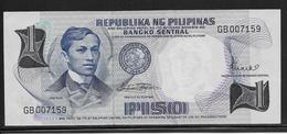 Philippines - 1 Piso - Pick N°142b - NEUF - Philippines