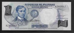 Philippines - 1 Piso - Pick N°142a - NEUF - Philippines