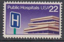 USA 1986 Public Hospitals 1v ** Mnh (43119F) - Verenigde Staten