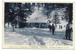 06-SAINT-MARTIN-VESUBIE-Le Chalet Telemark - Combe De La Colmiane, Valdeblore... Animé - Saint-Martin-Vésubie
