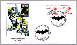 80 Años De BATMAN - 80 Years BATMAN. Napoli Vomero 2019 - Bandes Dessinées