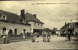 72- NEUVILLE SUR SARTHE / La Trugalle - Centre Du Bourg/ A 458 - Francia