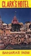 "D9303 ""CLARC S  HOTEL - BANARAS - INDIA "" ETICHETTA ORIGINALE, 1960 - Adesivi Di Alberghi"