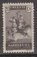 Marruecos Correo 1933 Edifil NE 11 ** Mnh - Maroc Espagnol
