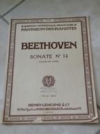 Clair De Lune Sonate N°14 (L.Van. Beethoven) - Musique Classique Piano (Panthéon Des Pianistes) - Instruments à Clavier