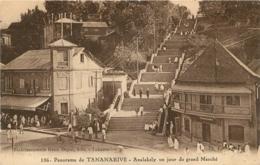PANORAMA DE TANANARIVE ANALAKELY UN JOUR DE GRAND MARCHE - Madagaskar