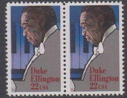 USA 1986 Duke Ellington 1v (pair) ** Mnh (43119I) - Verenigde Staten