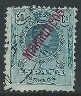 Marruecos Sueltos 1914 Edifil 38 O - Maroc Espagnol