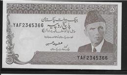 Pakistan - 5 Rupees - Pick N°28 - SPL - Pakistan
