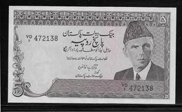 Pakistan - 5 Rupees - Pick N°38 - SPL - Pakistan