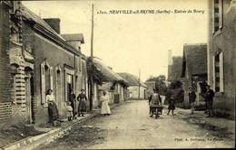 72- NEUVILLE S/SARTHE. Entrée Du Bourg / A 458 - Francia