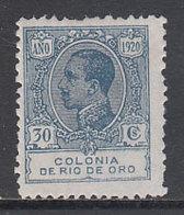 Rio De Oro Sueltos 1920 Edifil 124 * Mh - Rio De Oro