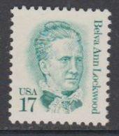 USA 1986 Belva Ann Lockwood 1v ** Mnh (43119K) - Verenigde Staten