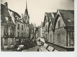 AUXERRE - Vieilles Maisons Du XVème Siècle Et Tour De L'Horloge (1962) - Auxerre