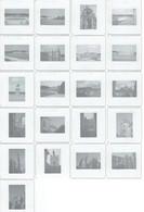 Lot De 21 Diapositives Couleurs De Chantilly Et Senlis (années 1970)) - Diapositives