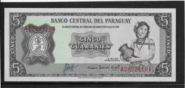 Paraguay - 5 Guaranies - Pick N°195 - NEUF - Paraguay