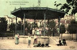 [92] Hauts De Seine > La Garenne Colombes    . KIOSQUE  A MUSIQUE - La Garenne Colombes