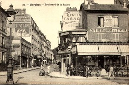 >92] Hauts De Seine > Garches / BOULEVARD DE LA STATION - Garches