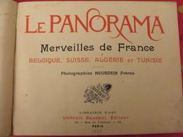 380 Photographies. Le Panorama. Merveilles De La France, Belgique, Suisse, Algérie, Tunisie. Neurdein. 1895 Baschet - Livres, BD, Revues