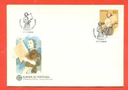 EUROPA - EUROPE-PORTOGALLO CEPT 1985 - FDC